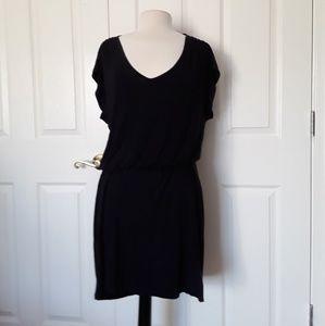 Old Navy large V Neck Elastic Waist Mini Dress